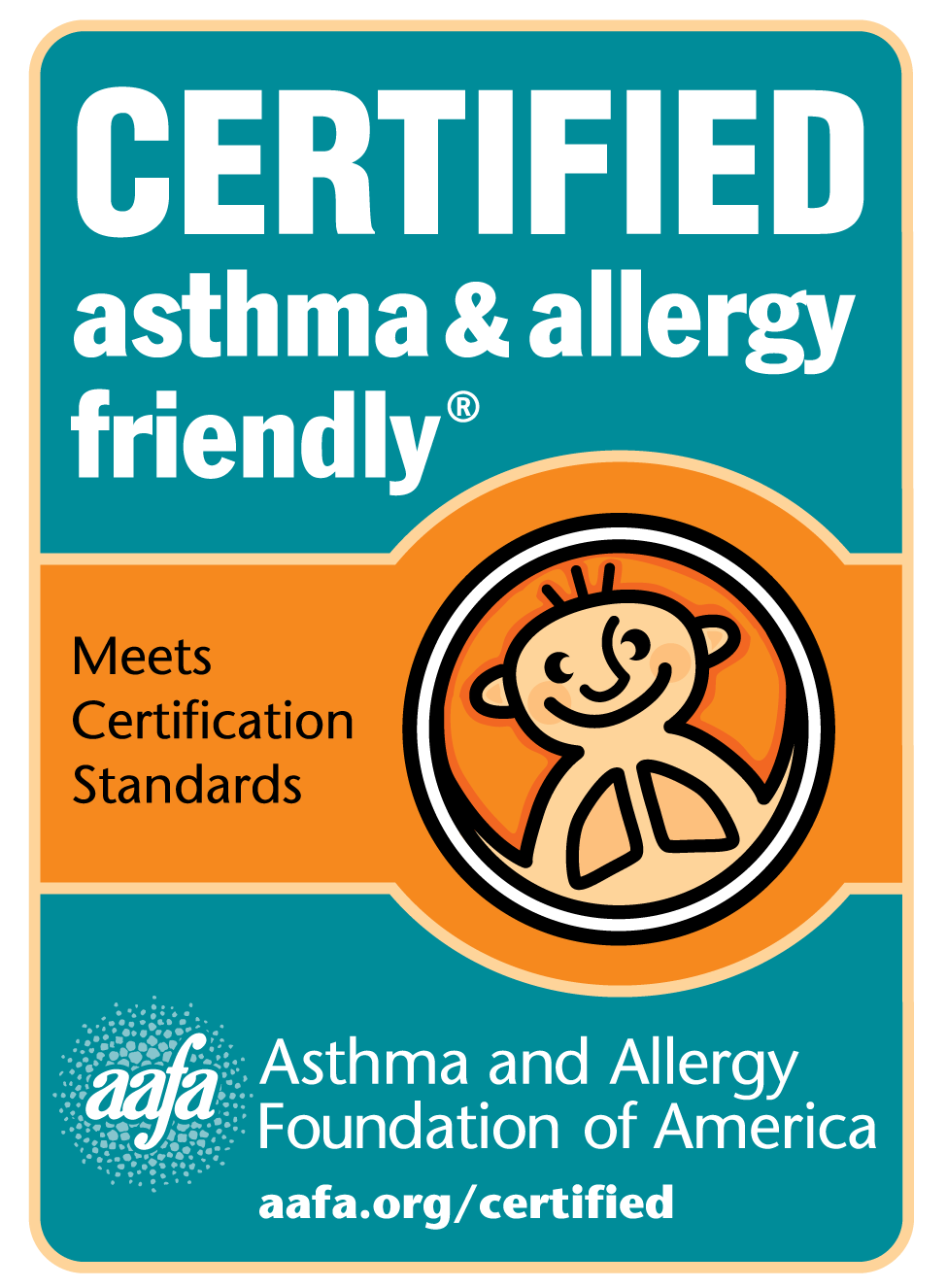Certified Asthma & Allergy Friendly Logo