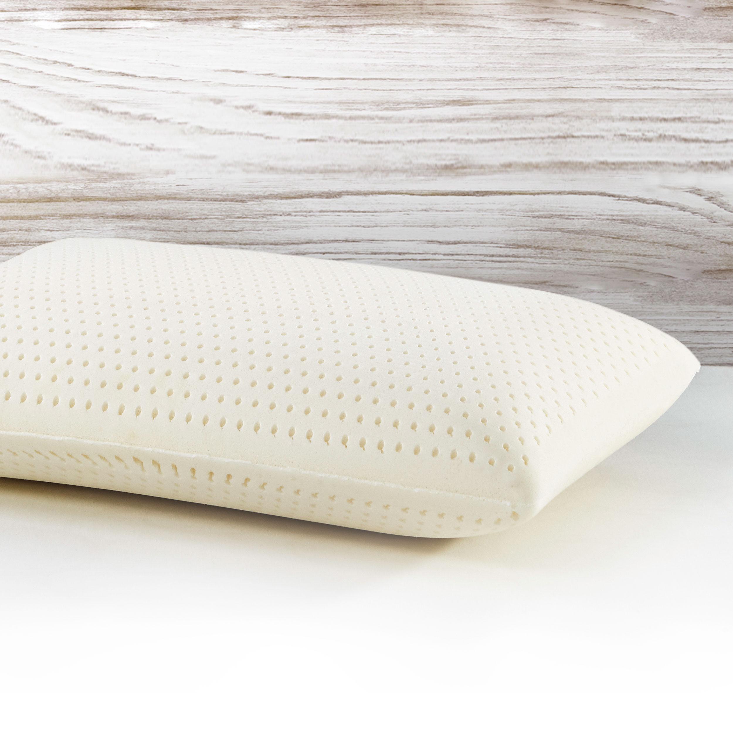 I Am Resilient Latex Foam Pillow Standard Queen Great Sleep