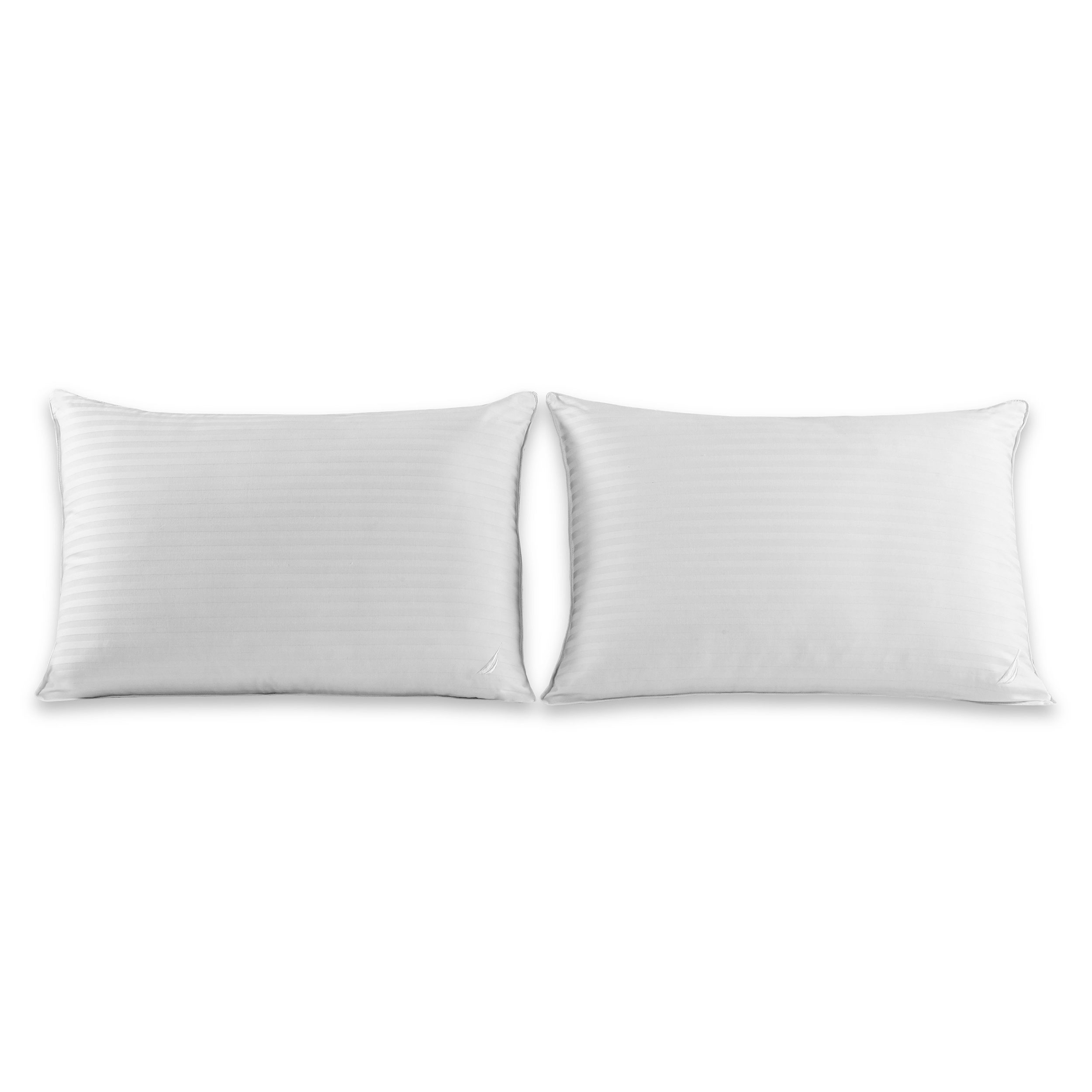 Nautica 174 Dobby Stripe Pillow 2 Pack Great Sleep