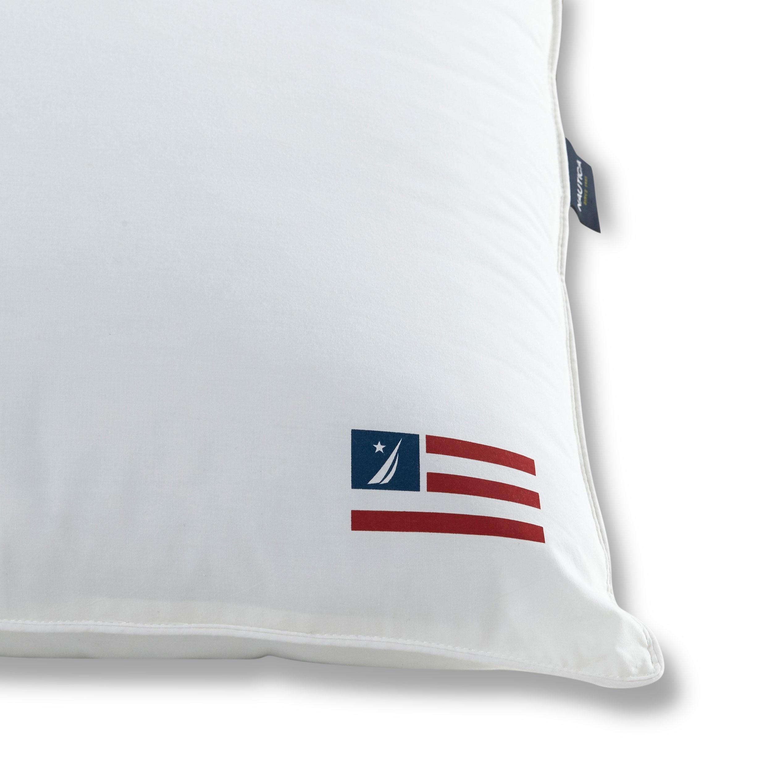 Nautica 174 Flag Pillow 2 Pack Jumbo Great Sleep