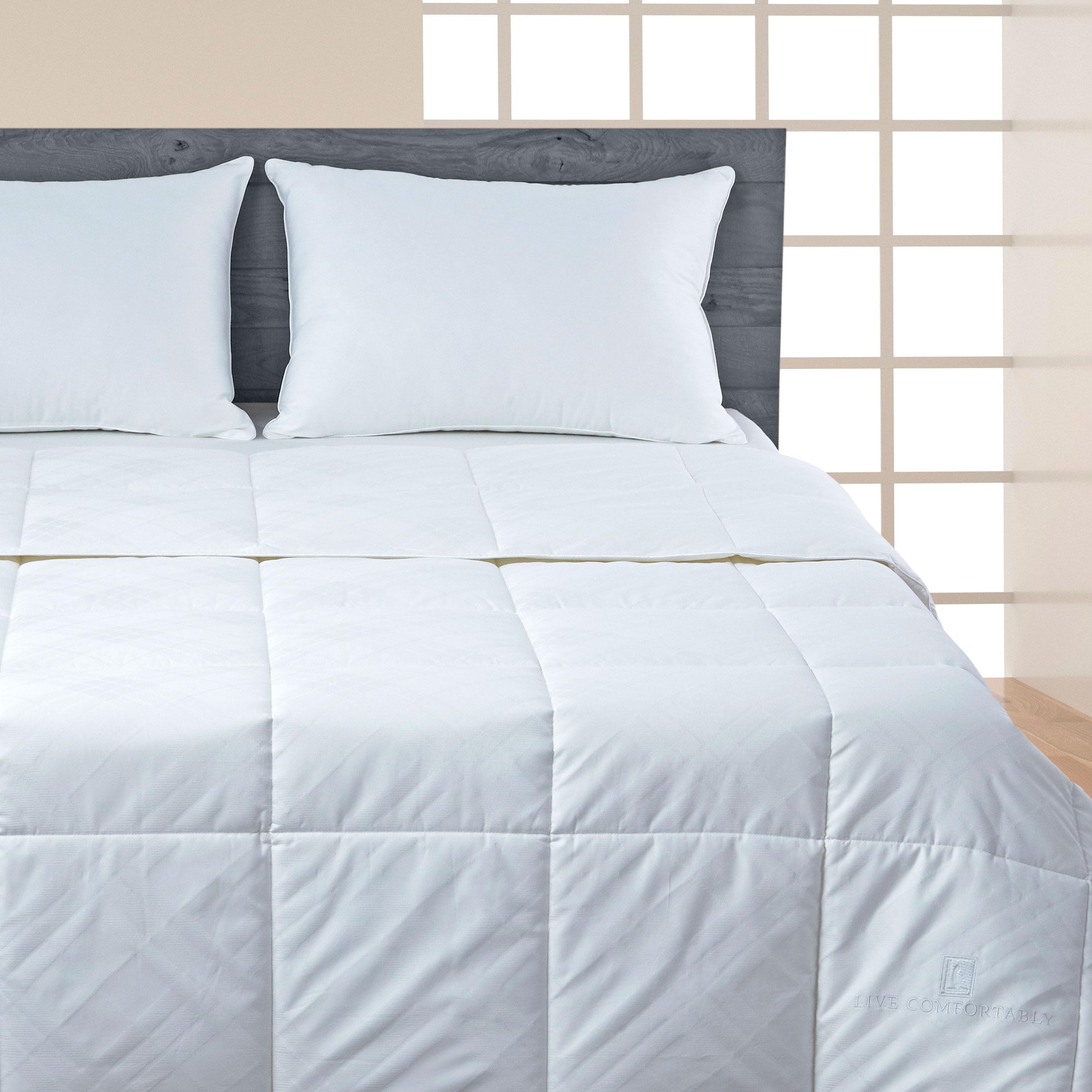 Live Comfortably 174 Dacron 174 Comforel 174 Coolfx Comforter