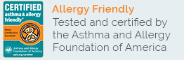 Certified Asthma & Allergy Friendly - Shop Now