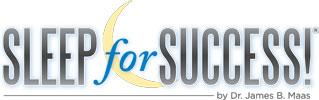 Dr. Maas - Sleep for Success Logo
