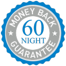 60 Night Money Back Guarantee - Learn More