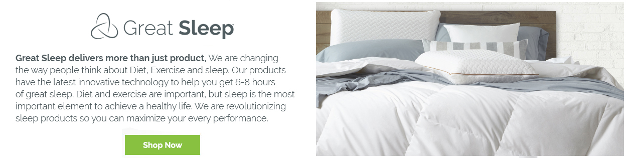 Great Sleep Products - Shop Now