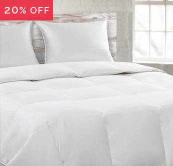 Save 20% on Comforters