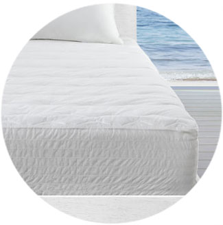 Nautica Mattress Pads and Toppers